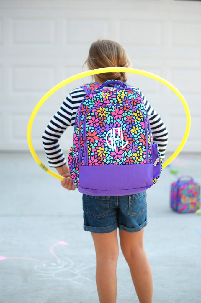Retired Patterns - Personalized Backpack Bookbag Kids School Bag