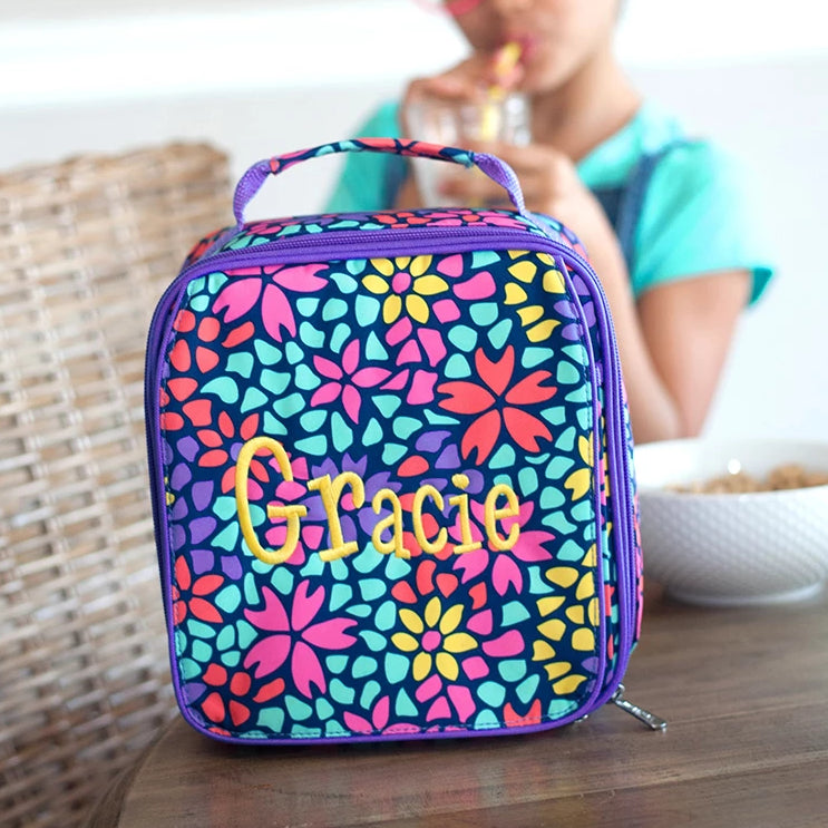 "Personalized 9"" Lunch Bag Insulated Thermal Lunchbox"