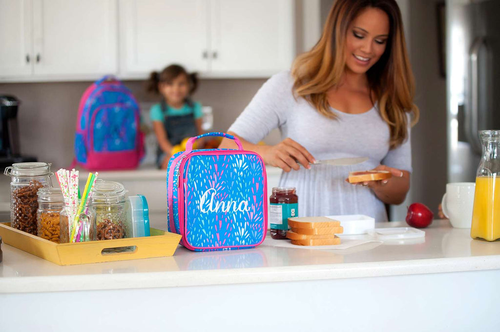 "Retired Patterns - Personalized 9"" Lunch Bag Insulated Lunchbox"