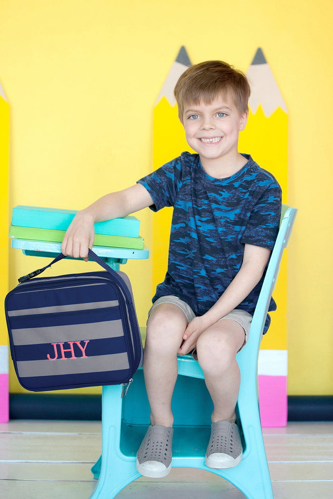 Personalized Boys Lunch Bags