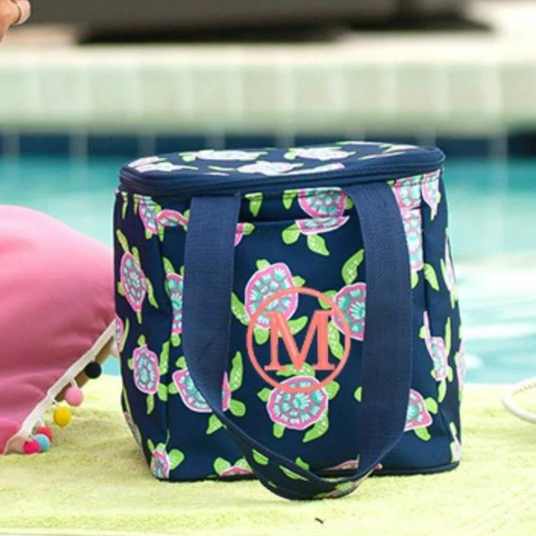 Personalized Cooler Bag - Insulated Tote -Sea Turtle