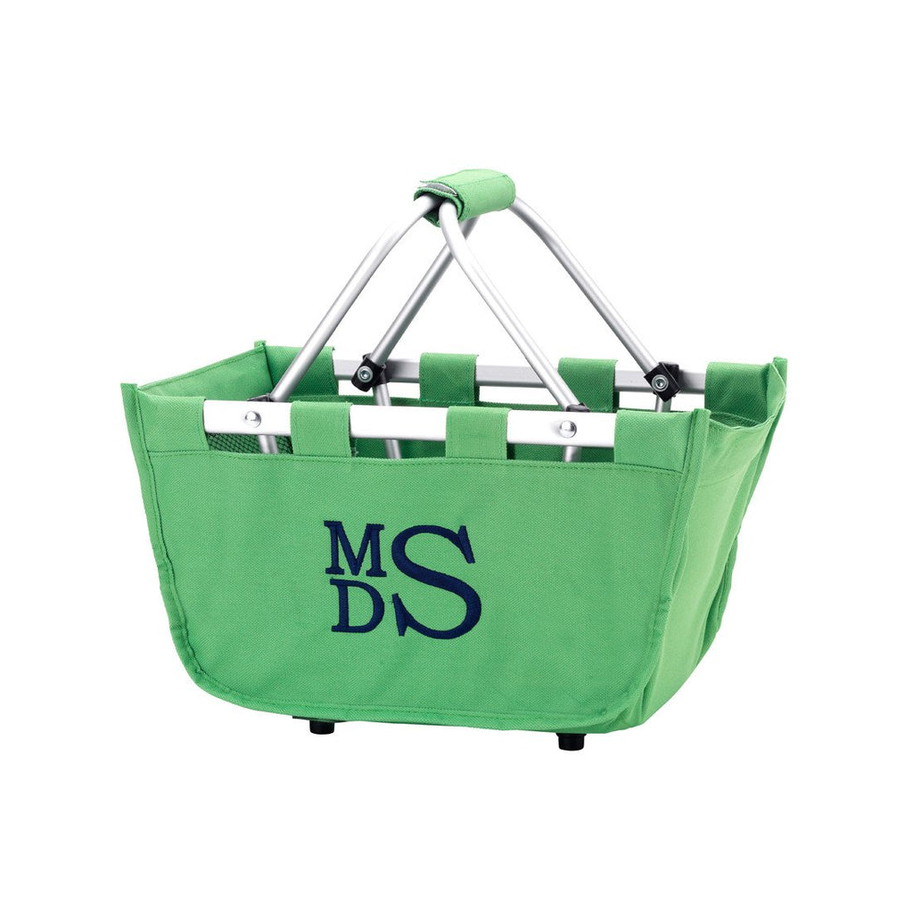 Personalized Small Market Basket - Green