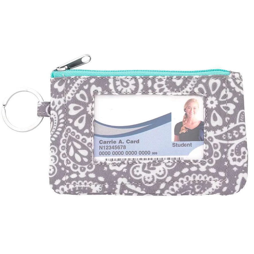 Fashion ID Case & Keyring - Parker Paisley