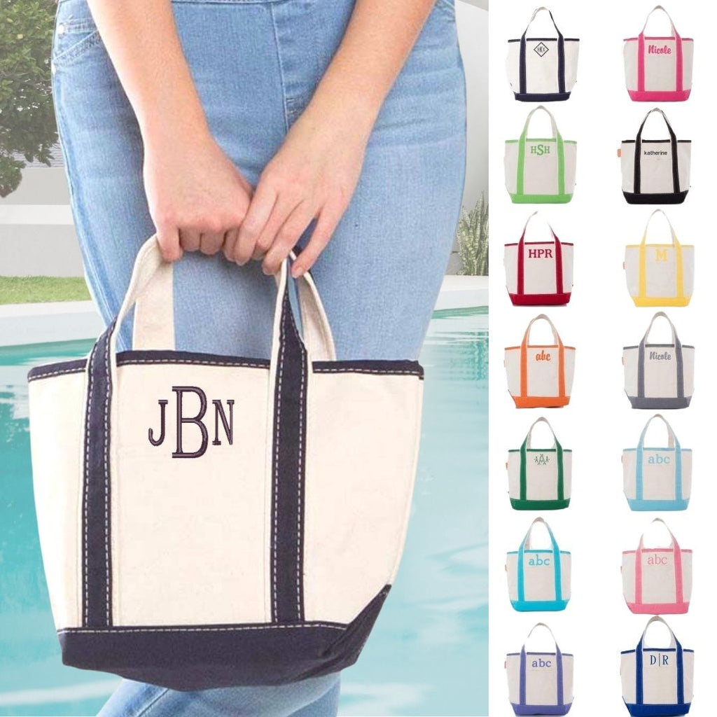 Personalized Handy Open Top Tote Bag