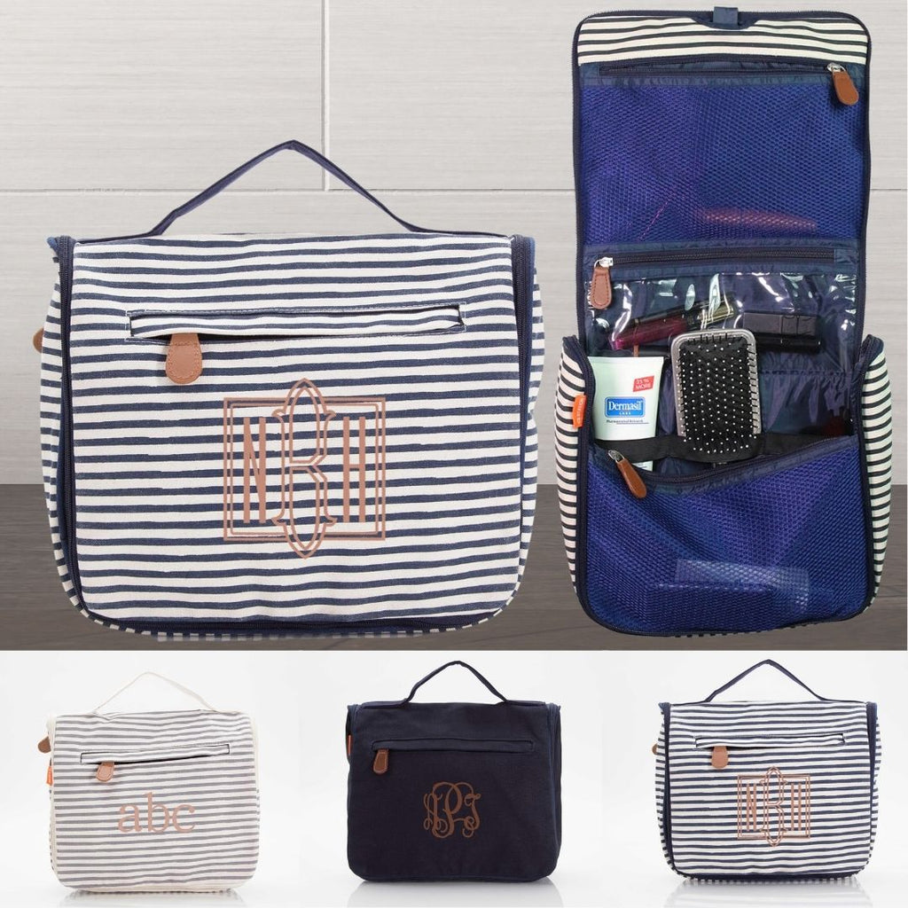 Personalized Hanging Cosmetic Bag Organizing Travel Kit