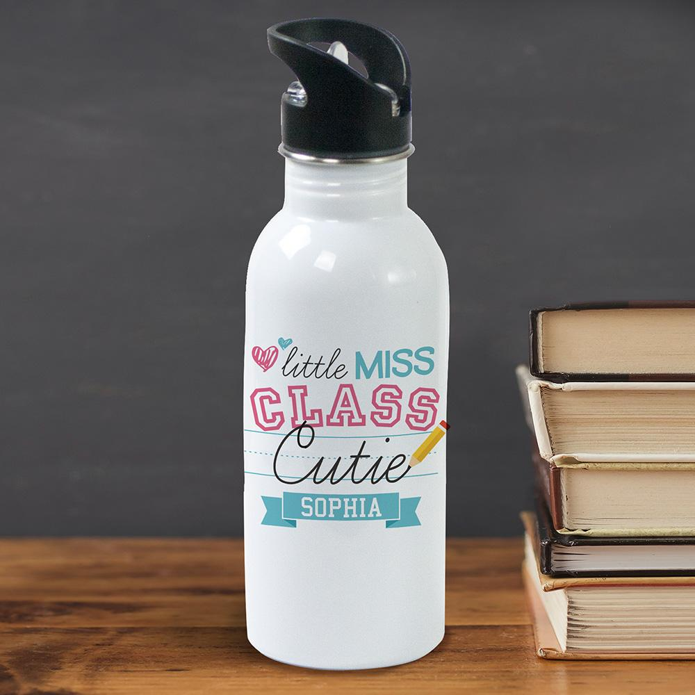 Personalized Little Class Cutie Water Bottle