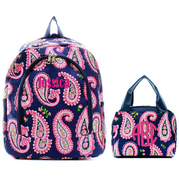 Personalized Matching Kids Backpack & Lunch Bag Set