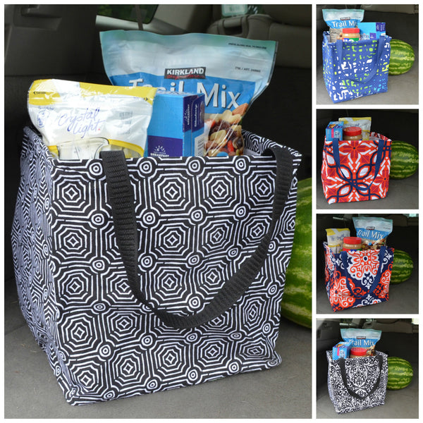 Large Square Utility Tote Bag