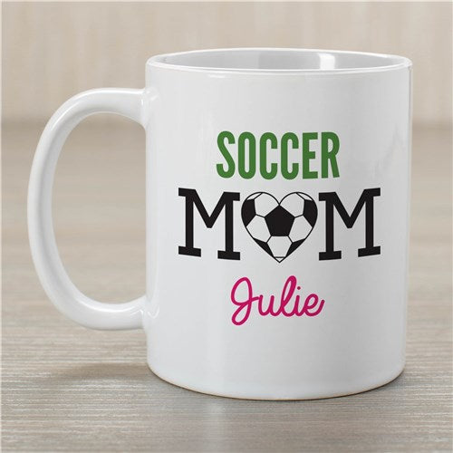 Personalized Soccer Mom Coffee Mug