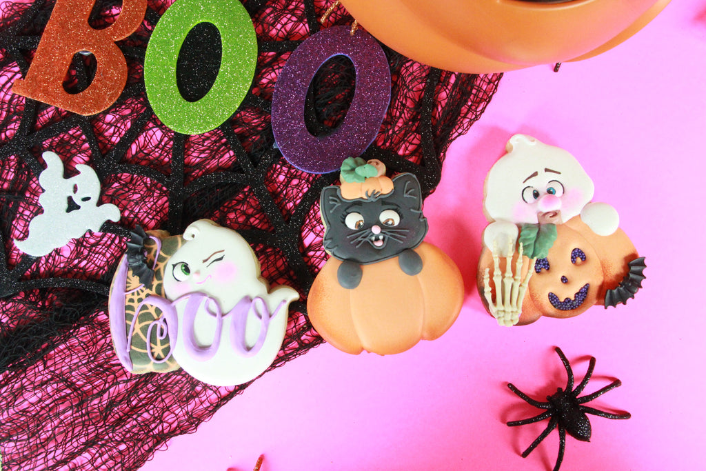 Peek-a-BOO! Halloween Cookie Gift