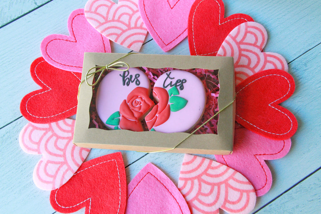 Besties Share Cookies, Valentine's Day Gift Set