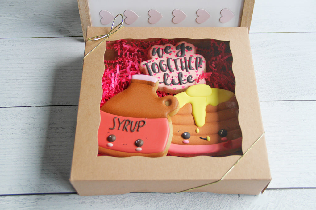We Go Together Like Pancakes & Syrup, Valentine's Day Gift Set