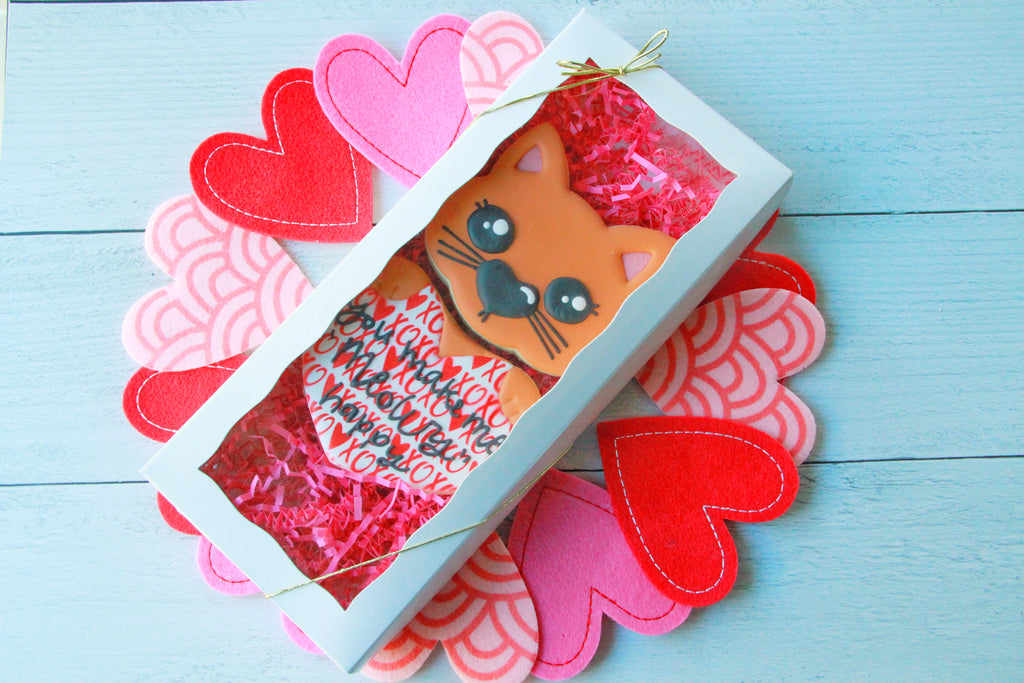 "You Make Me ""Meowry"" Happy, Valentine's Day Gift Set"