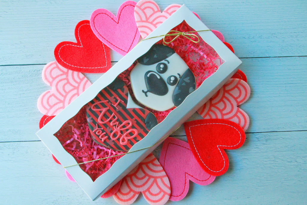"I ""Wuff"" You, Valentine's Day Gift Set"
