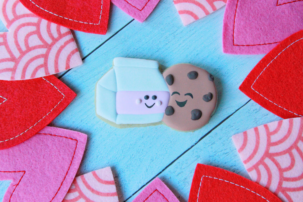 We Go Together Like, Milk & Cookies, Valentine's Day Gift Set