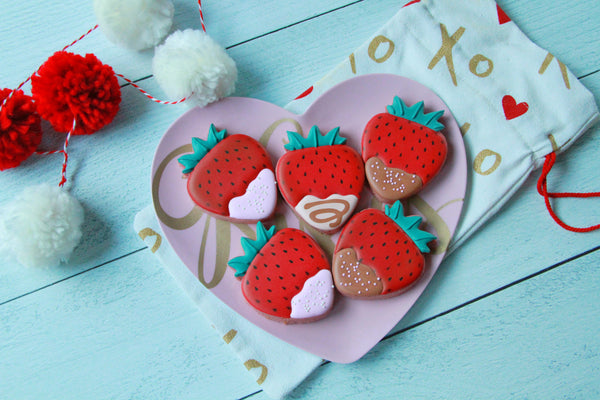 I Love You Berry Much, Valentine's Day Berry Basket
