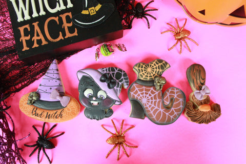 Bad Witch Starter Kit, Halloween Cookie Gift