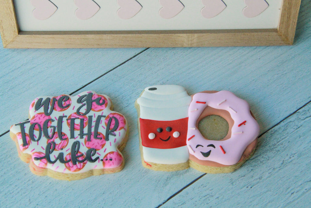 We Go Together Like, Coffee & Donuts, Valentine's Day Gift Set