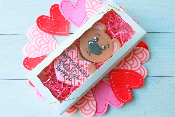 "You Make Me ""Beary"" Happy, Valentine's Day Gift Set"