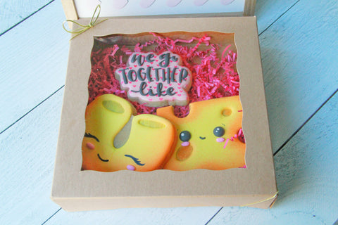 We Go Together Like Mac & Cheese, Valentine's Day Gift Set