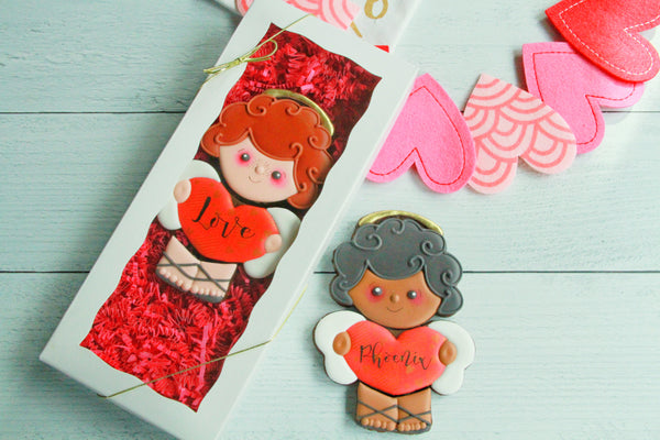 Personalized Cupid, Valentine's Day Gift Set