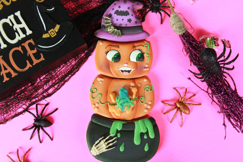 Pumpking Halloween Cookie Gift