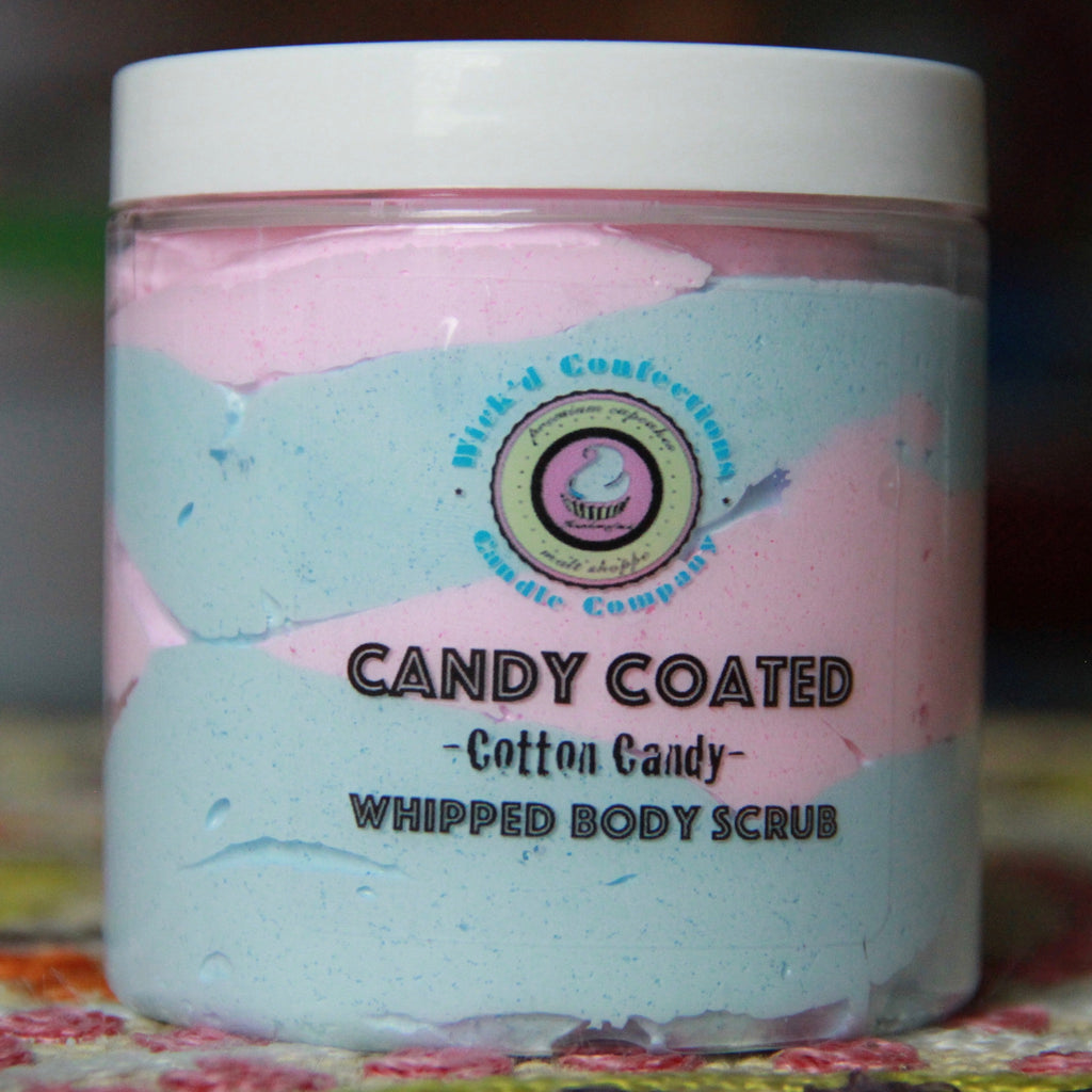 Cotton Candy Candy Coated Whipped Body Scrub