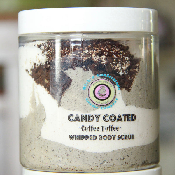 Coffee Toffee Candy Coated Whipped Body Scrub
