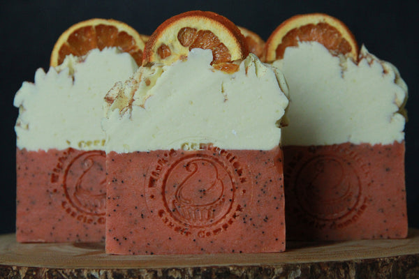 Moisture Rich Spiced Orange Caramel Artisan Soap