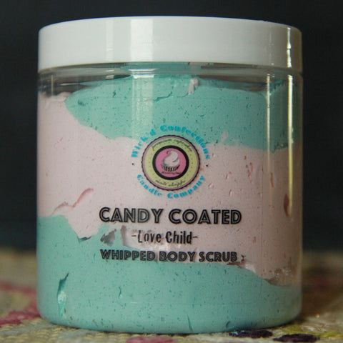 Love Child, Candy Coated Whipped Body Scrub