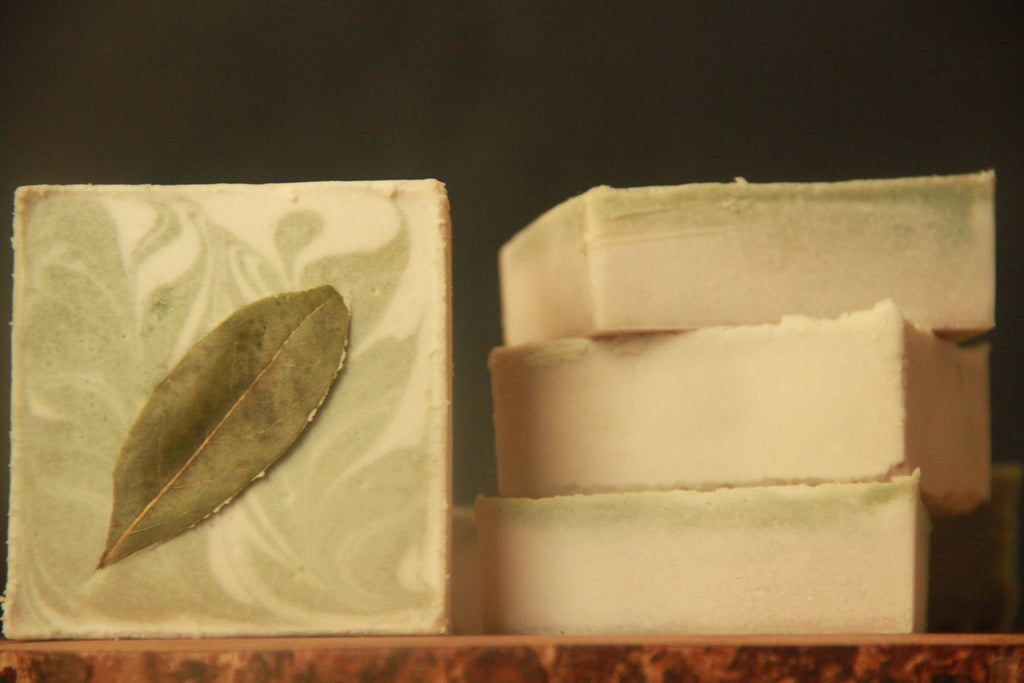 Smoked Bay Laurel, Botanical Cleansing Bar