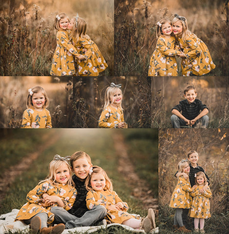 Fall Presets for Lightroom and Mobile (includes Pose Cards!)