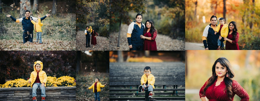 Bundle: Fall Presets for Lightroom (includes Pose Cards!)