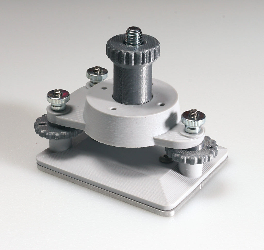 Easy Leveling Build Plate For Use With Printers That Do Not Have Build Plate Leveling And Use The LittleRP Compatible Or Other Size Compatible Vat:  60mm X 80mm Build Area
