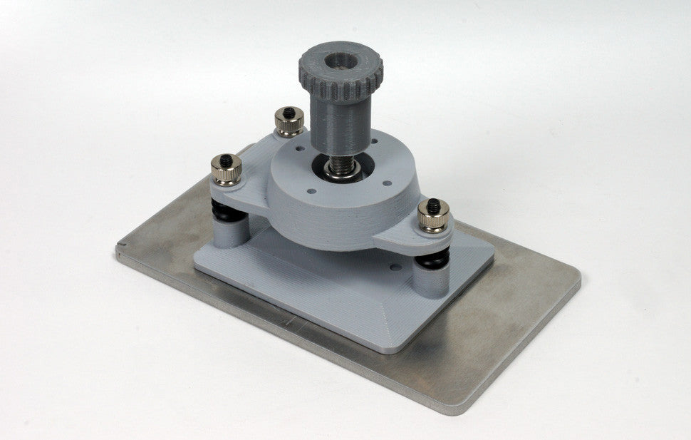 adjustable build plate for use with mid sized flexvat