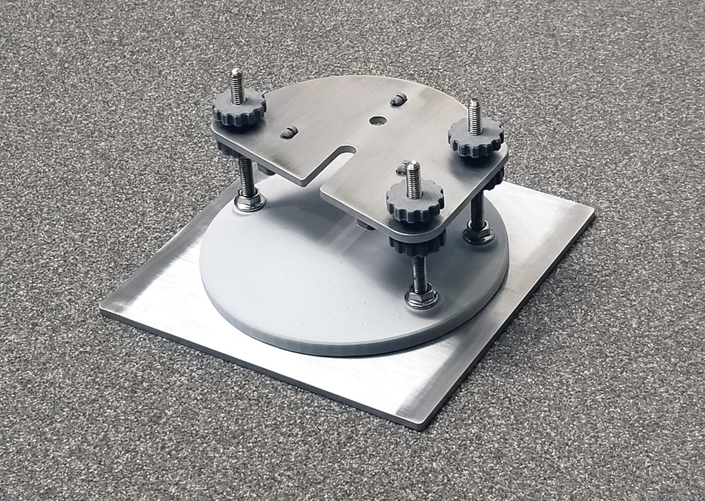 Peopoly Moai Compatible Full Sized 130mm X 130mm Adjustable Build Plate