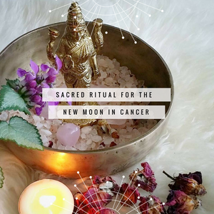 Sacred Ritual for the New Moon in Cancer