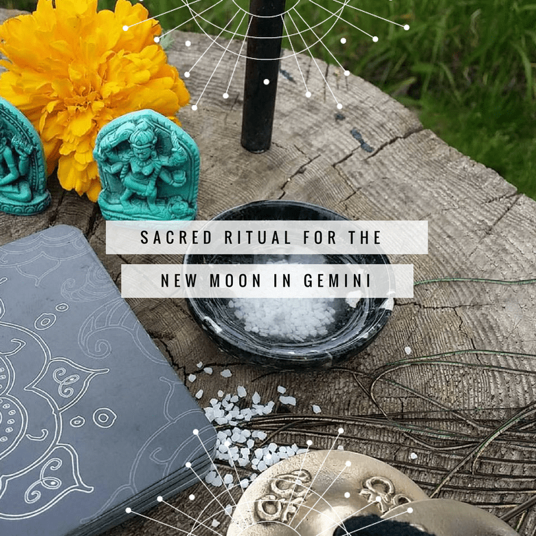 Sacred Ritual for the New Moon in Gemini
