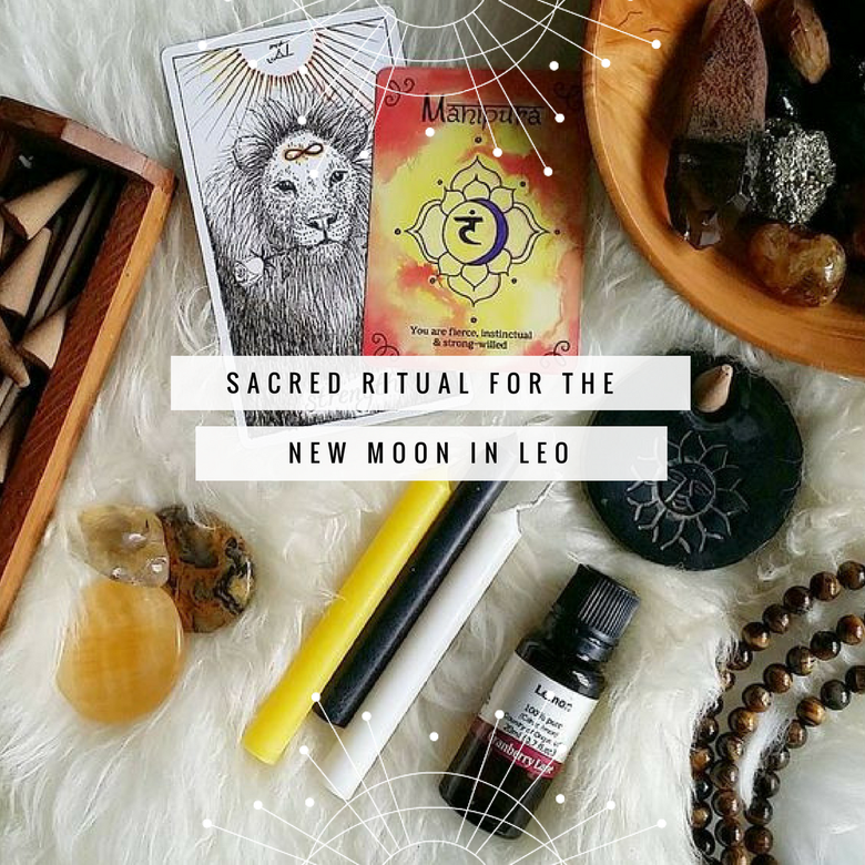 Sacred Ritual for the New Moon in Leo