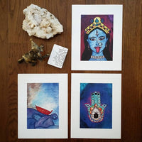 Hamsa Art Print (Limited Edition)