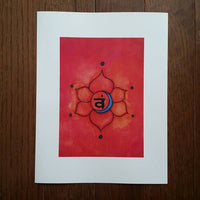 Sacral Chakra Art Print (Limited Edition)