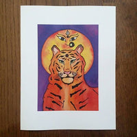 Durga's Tiger Art Print (Limited Edition)