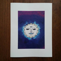 Full Moon Art Print (Limited Edition)