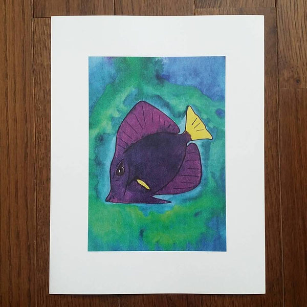Fish Art Print (Limited Edition)