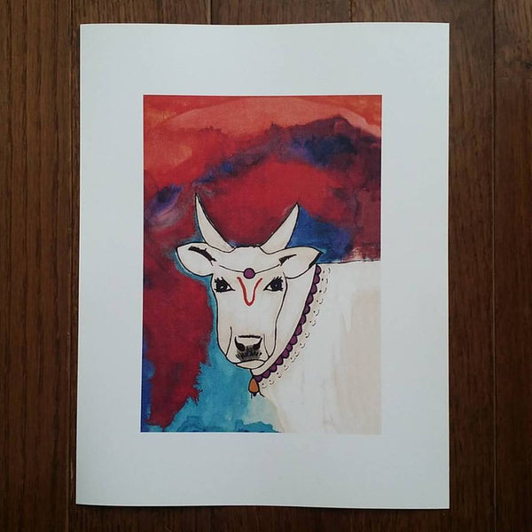 Cow Art Print (Limited Edition)