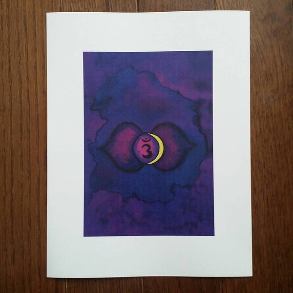 Third Eye Chakra Art Print (Limited Edition)