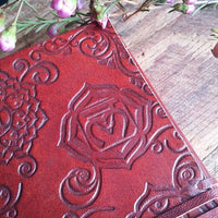 Chakra Leather Journal