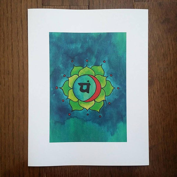 Heart Chakra Art Print (Limited Edition)