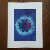 Throat Chakra Art Print (Limited Edition)