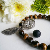 Yellow Tigers Eye Aromatherapy Bracelet